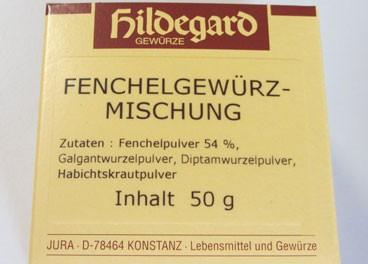 Mezcla de especias con Hinojo-Sivesan