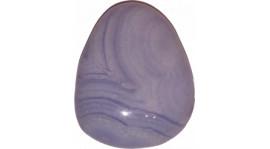 Calcedonio blu per appendere