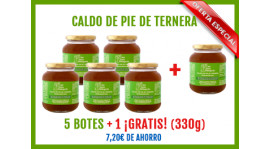 Oferta Caldo de pie de Ternera (5+1 gratis)